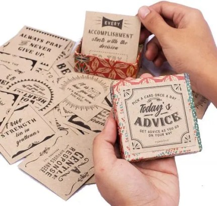 Today's Advice Inspirational Cards Deck