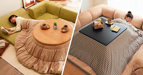 Never Leave The Warmth Of Your Bed With This Japanese Invention