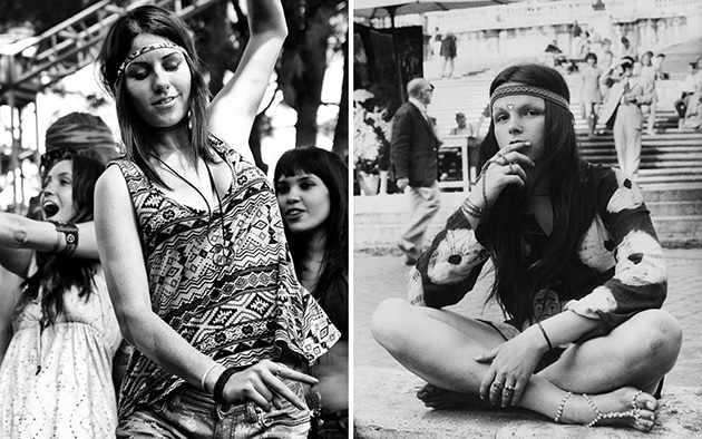 woodstock women fashion 1969
