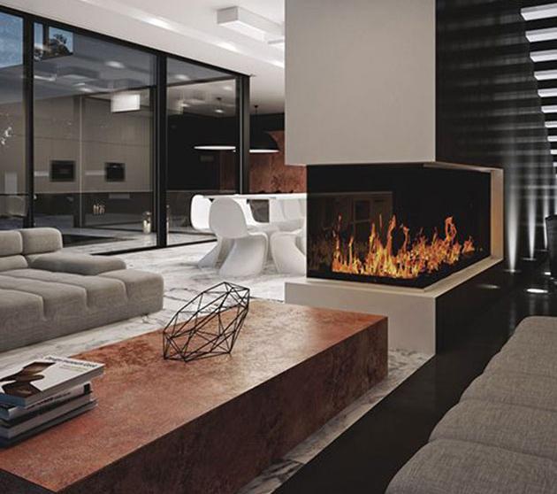 16 Modern Fireplace Ideas