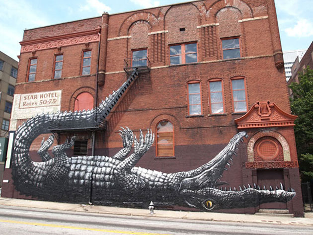 Large Scale Street Art Murals
