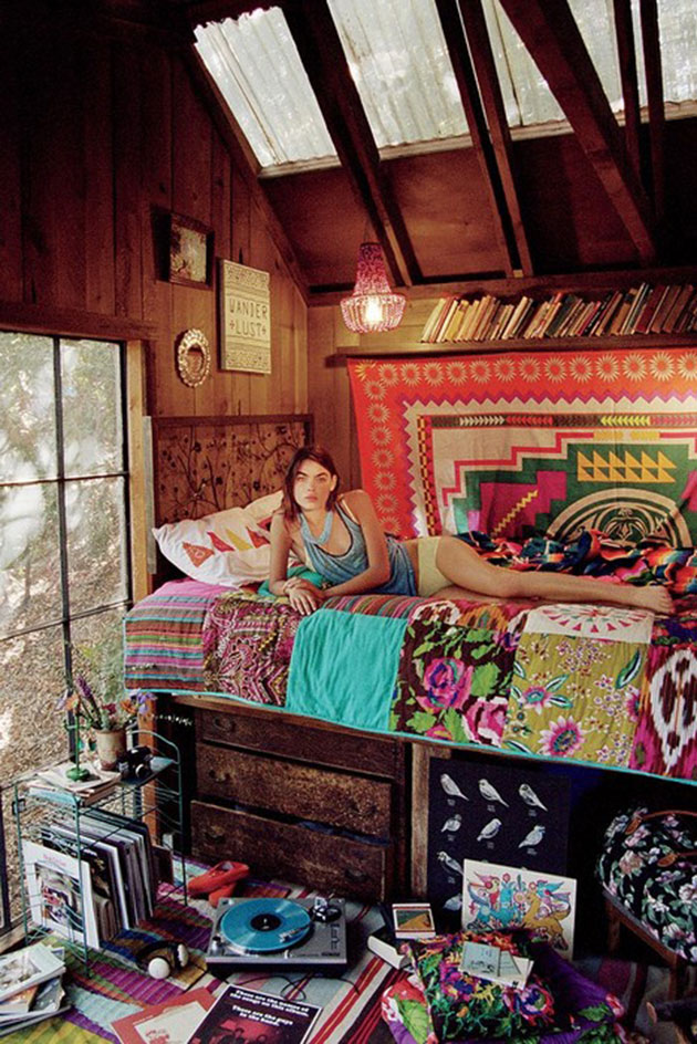 26 Boho Chic Interior Designs