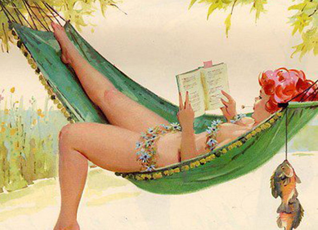 25 Sexy Vintage Illustrations of Hilda, The Forgotten Plus-Size Pinup Girl of the 1950s