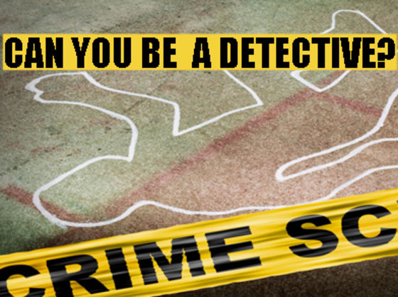 Can You Be a Great Detective?