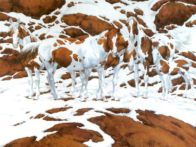 No One Can Count The Number Of Horses In This Stunning Painting… How Many Do You See?
