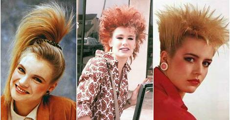 1980s: The Period of Women Rock Hairstyle Boom