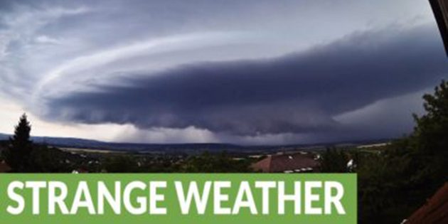 Rare Timelapse Footage Of Supercell Storm In Hungary