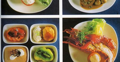 When Airplane Food Was First Class – A Mouthwatering Look At What In-Flight Meals Used To Be Like in the Golden Age of Flying