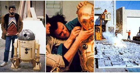 40 Rare Color Photos of Behind the Scenes from the Making Film 'Star Wars'