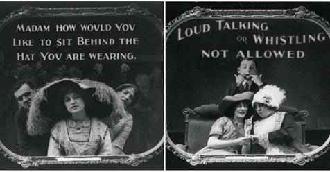 Before Cell Phone, These 14 Hilarious Vintage Posters Illustrate the Etiquette of Movie-Going in 1912