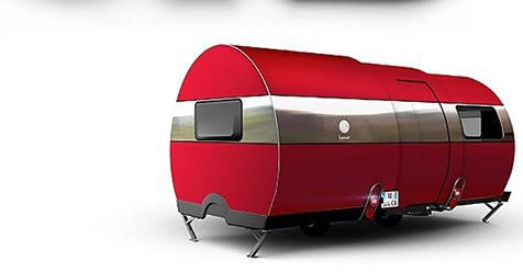 Modern Camper Expands 3X with a Simple Press of a Button