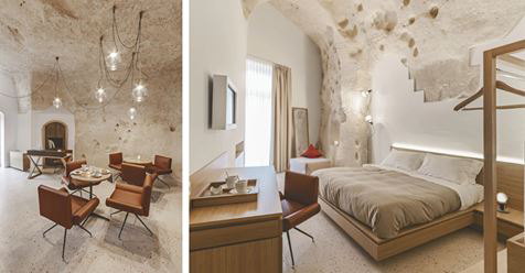 Italian Architects Revamp Caves into a Stunning Hotel