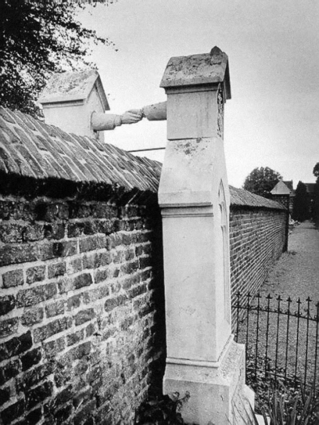 Touching Image Of Graves Of A Catholic Woman And Her Protestant Husband, Separated By A Wall In Roermond, Netherlands, 1888