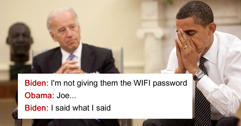 30 Hilarious Conversations Between Obama And Biden Are The Best Medicine After This Election