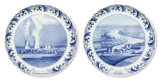 Exactly what Your Next Dinner Party Needs: Nuclear Reactor Porcelain Plates