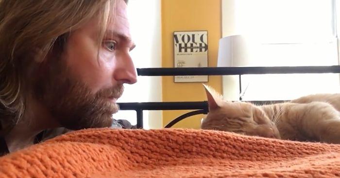 Guy Gets Revenge On Cat Who Kept Waking Him Up At 4 AM Every Morning