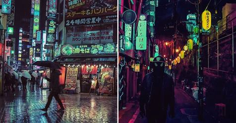 Photographer Gets Lost in the Beauty of Tokyo's Neon Streets at Night