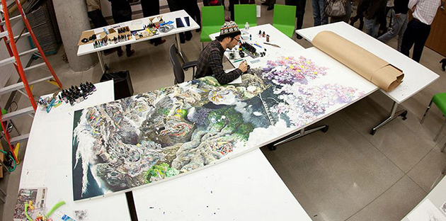 Japanese Artist Devotes the Past 3.5 Years to Complete Breath-Taking Drawing