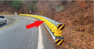 This Seems to Be Just an Ordinary Roadside Barrier, But You'll Be Amazed When You See It in Action!