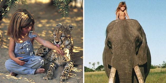 Incredible Pictures Of A Girl Who Spent The First 10 Years Of Her Life Growing Up In The African Bush