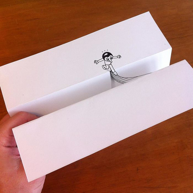 3d paper art huskmitnavn