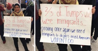 20 Of The Best Signs From Muslim Ban Protests