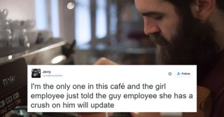 When This Girl Asked Out A Barista, A Customer Secretly Live Tweeted Their Conversation