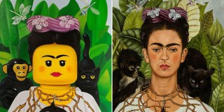 Artists Reimagines Iconic Paintings with LEGO People