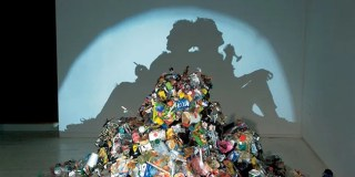 Mind-Boggling Shadow Art from Trash Sculptures