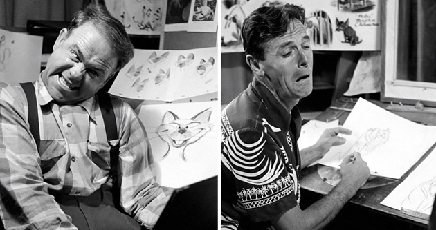 Animators At Disney Study Their Expressions In The Mirror To Draw The Facial Expressions Of Classic Characters