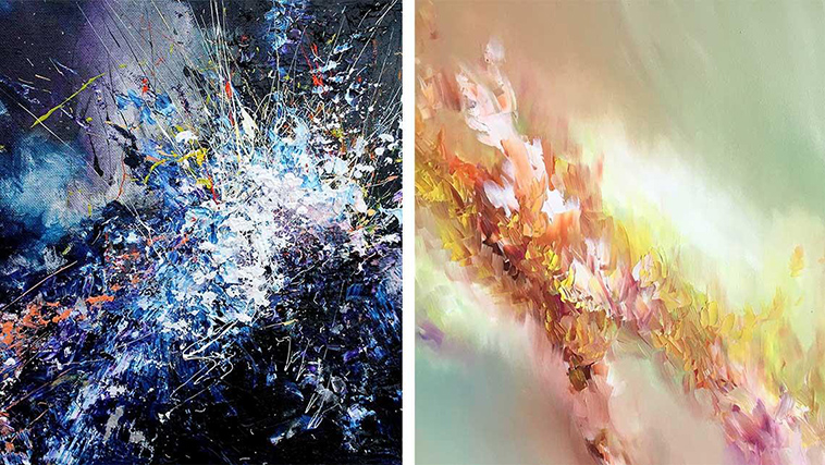 Artist With Rare Synesthesia Condition Can See Music And
