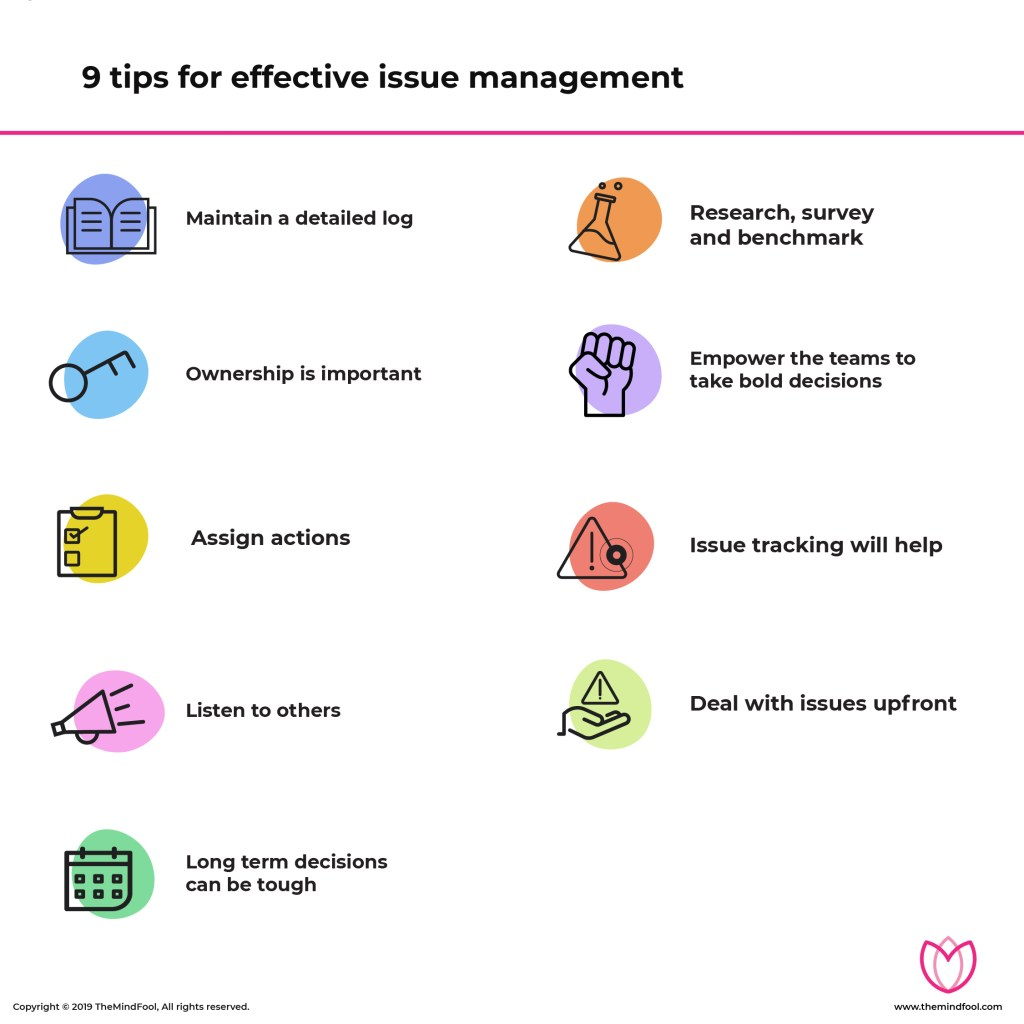 9 Tips for Effective Issue Management