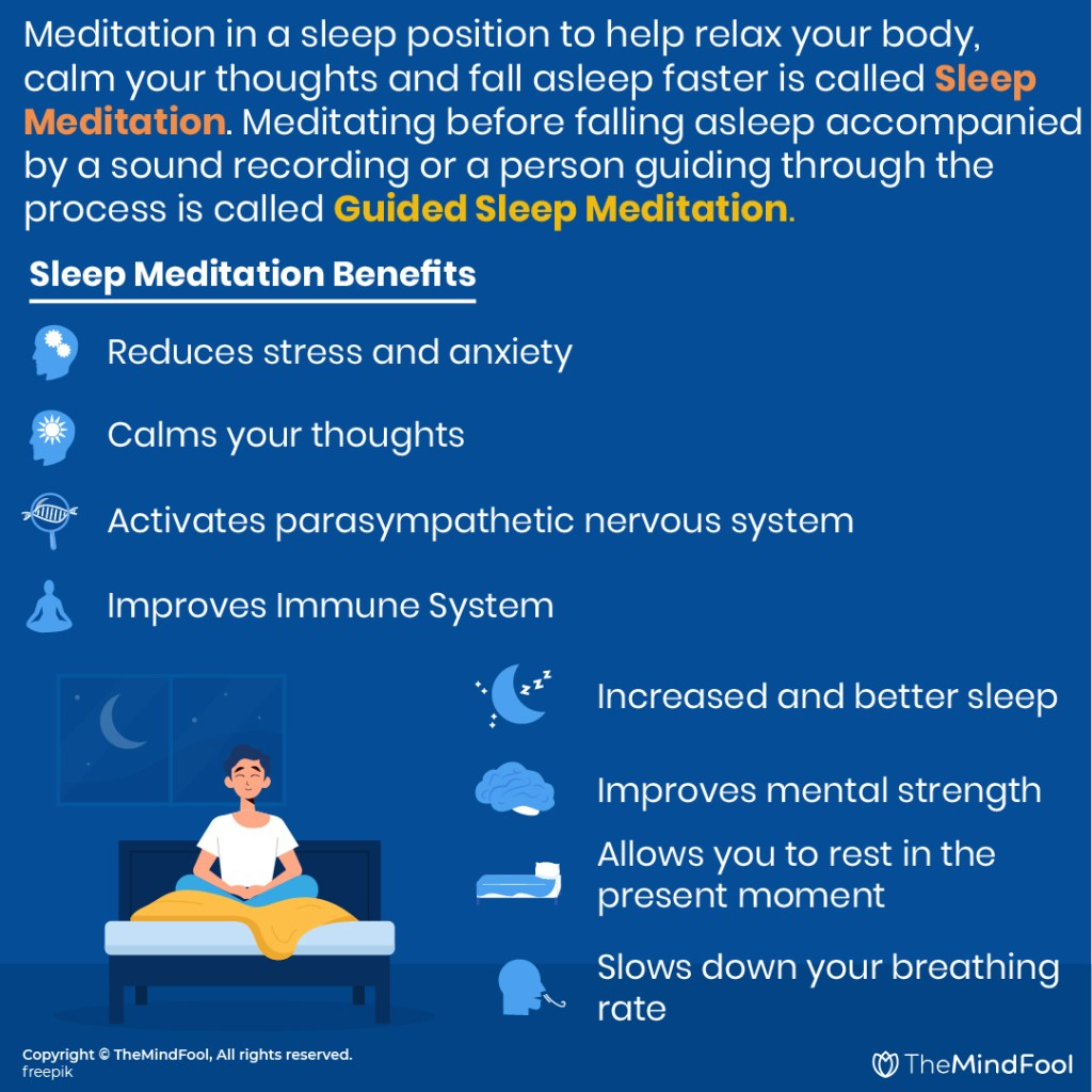 Benefits of Sleep Meditation and How to practice it
