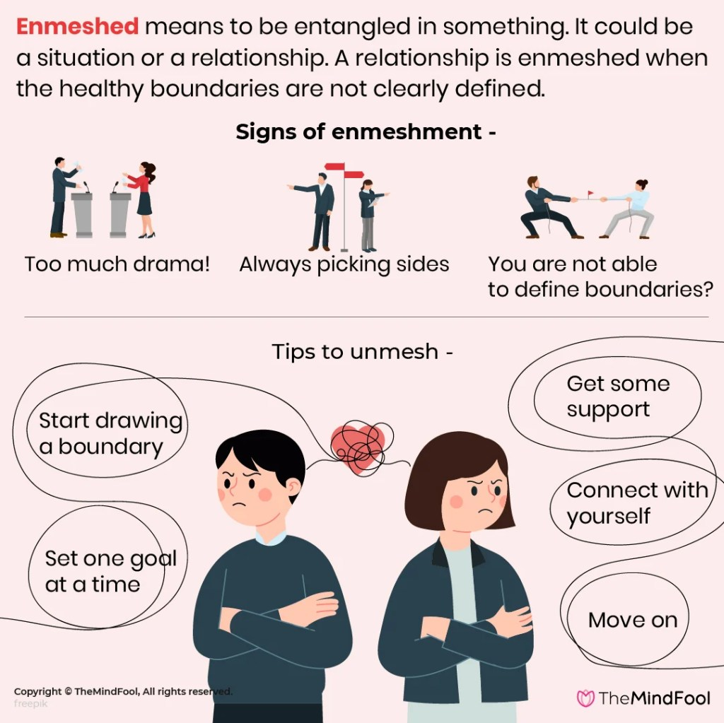 Enmeshed Relationships: 5 Simple Tips to 'Unmesh'