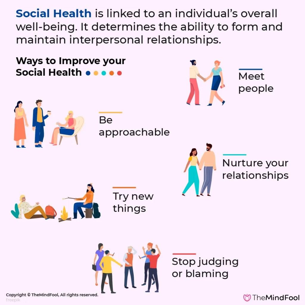5 ways to improve social health