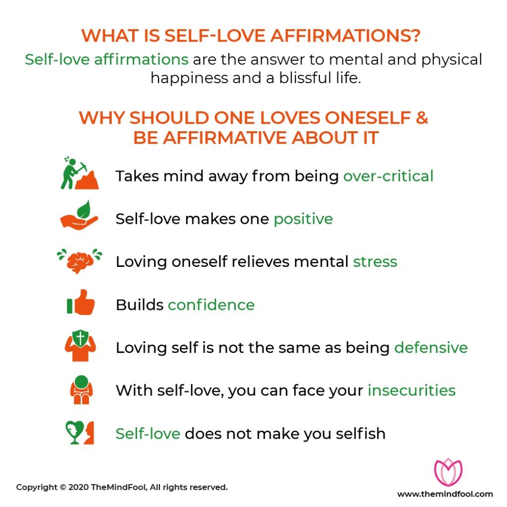 Why practice self love affirmations?