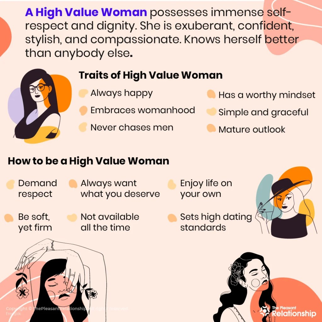5 Traits of a High Value Woman
