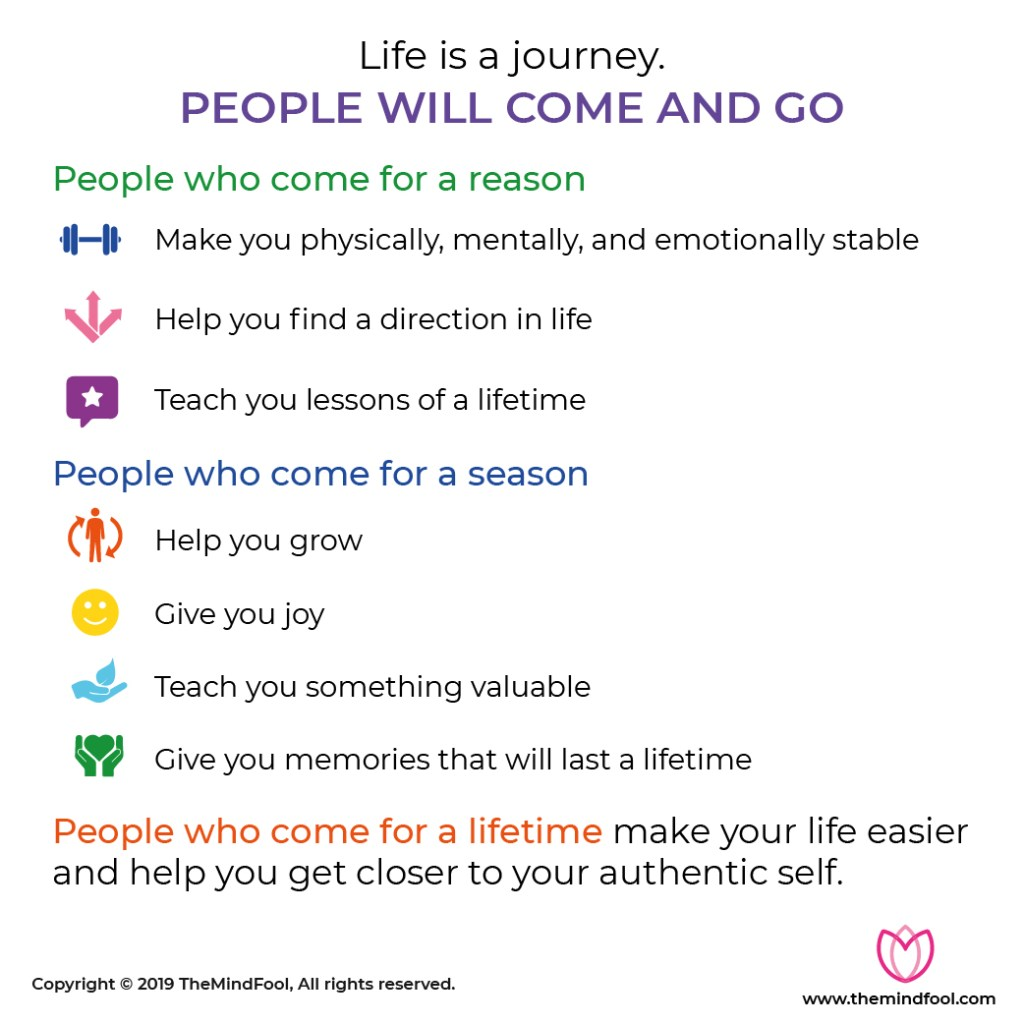 People Come into Your Life for a Reason!