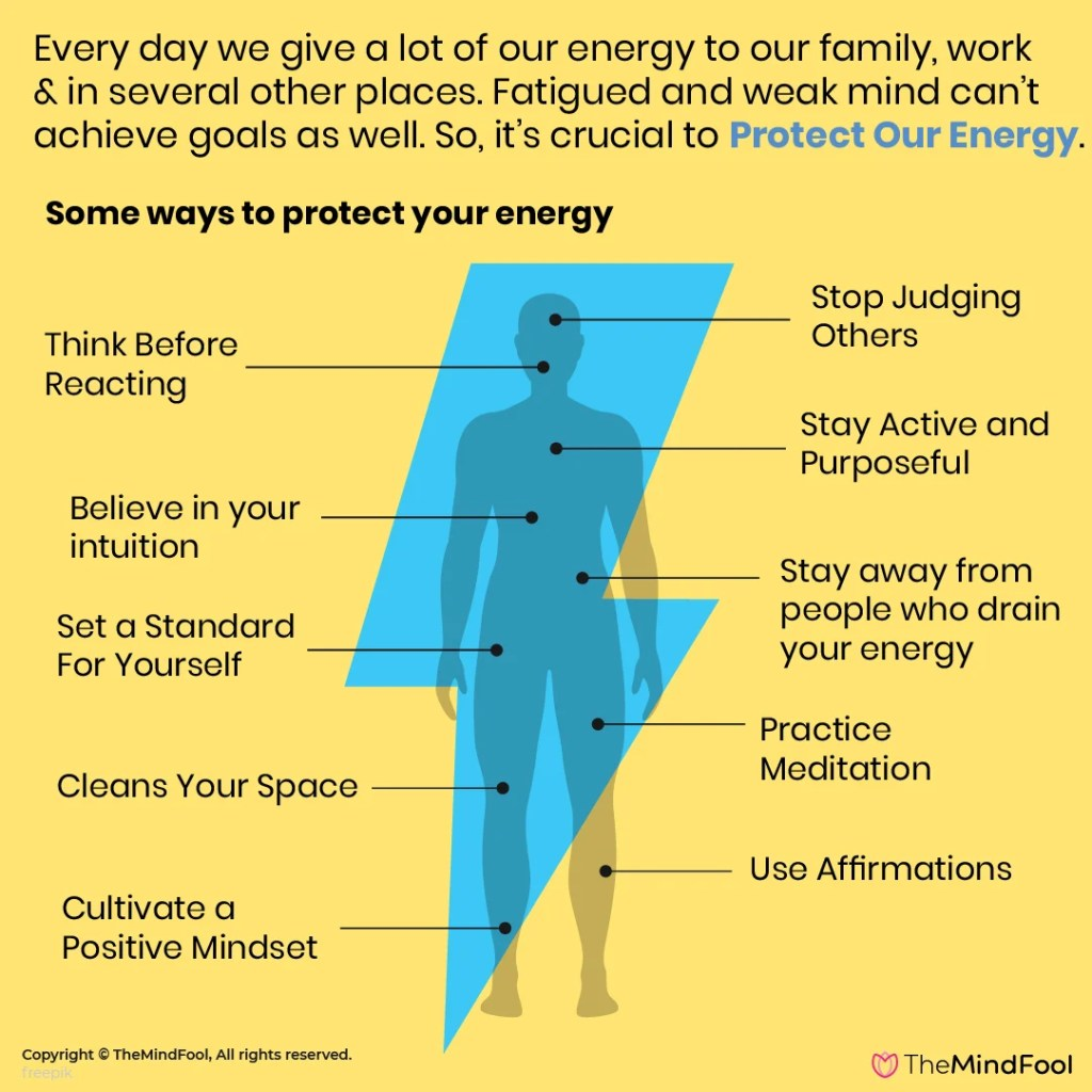 How to protect your energy? - 8 Ways to Protect Your Energy