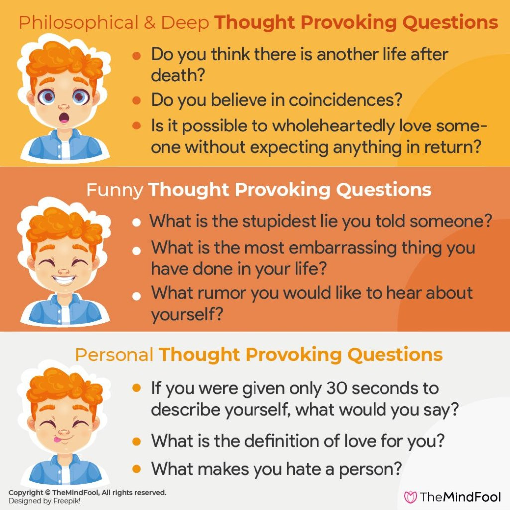 Thought Provoking Questions to Make Conversations Interesting