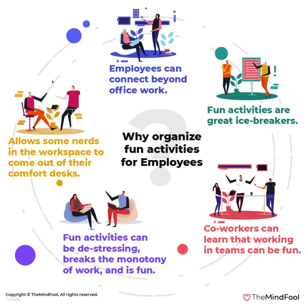 Small Fun Activities Employees Can Participate In