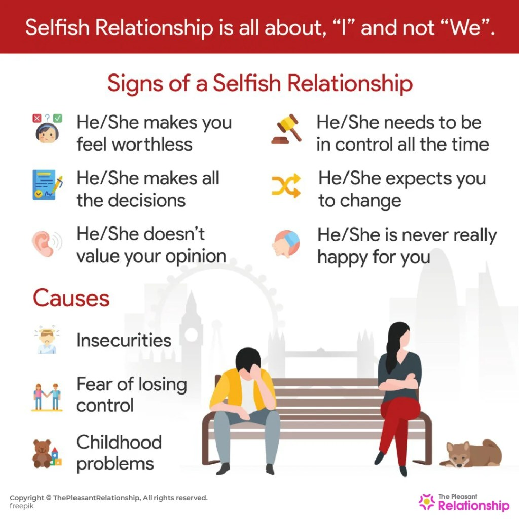 Are You in a Selfish Relationship? How to Deal with a Selfish Partner?