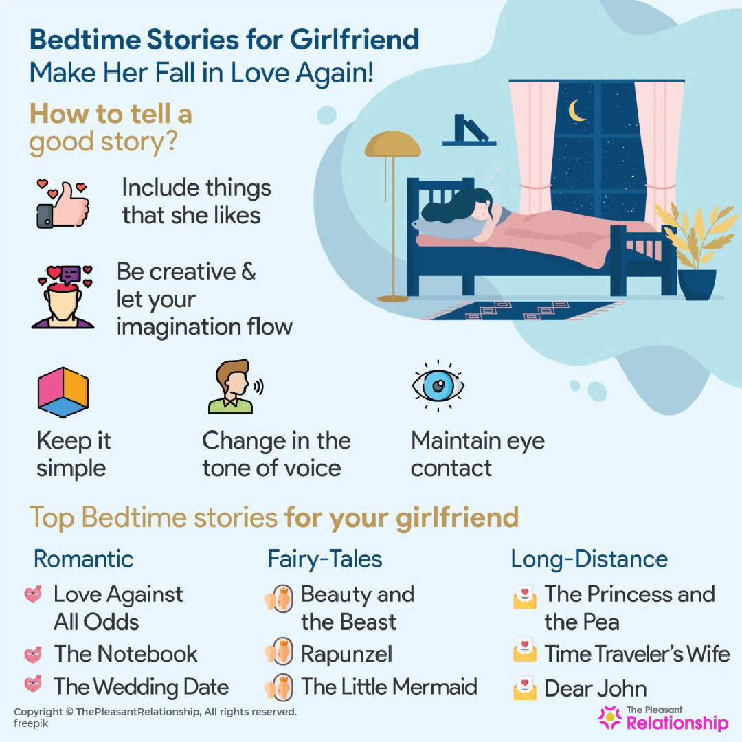 I'm the kind of guy who reads romantic bedtime stories to my girlfriend to help