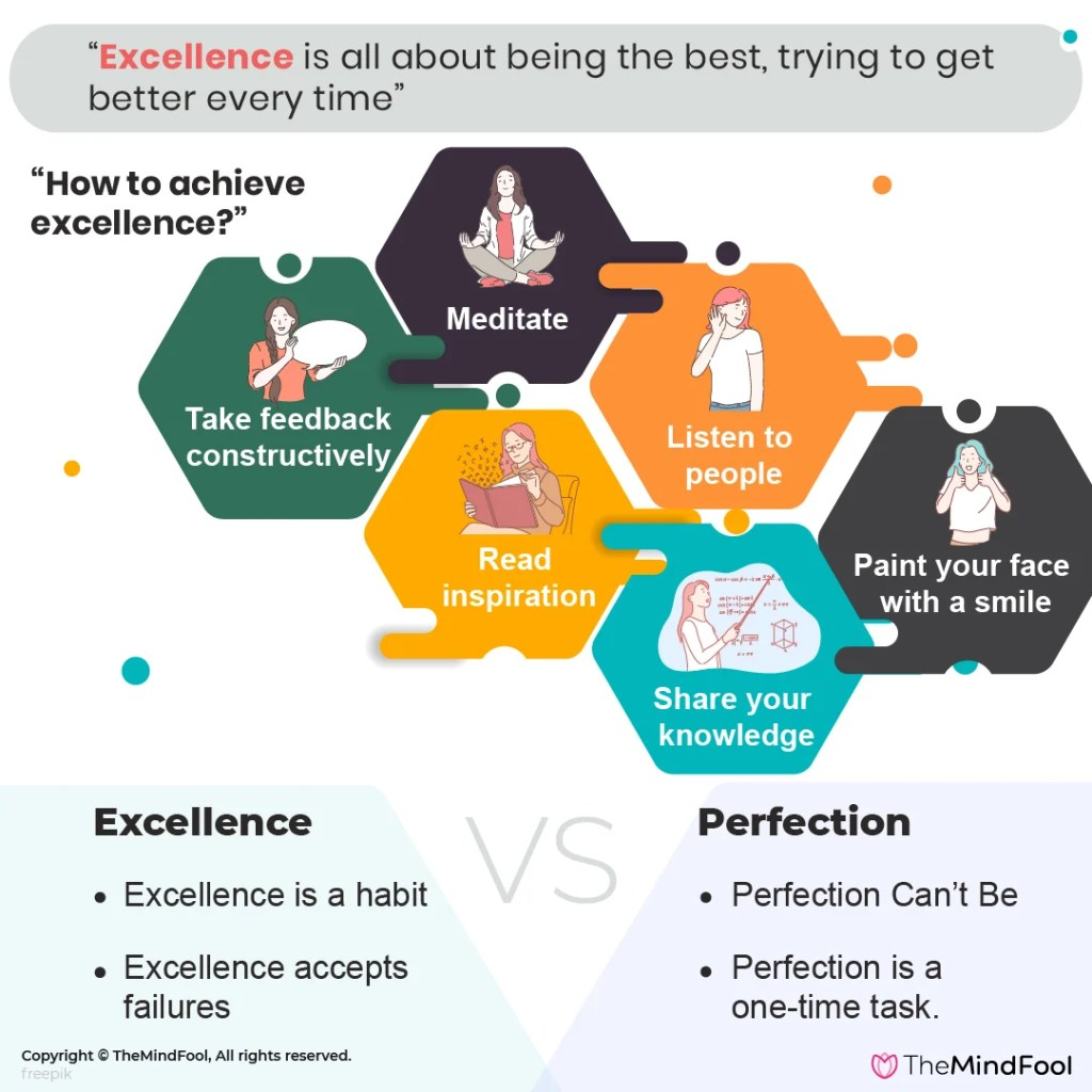 Striving For Excellence? Here's How You Do It