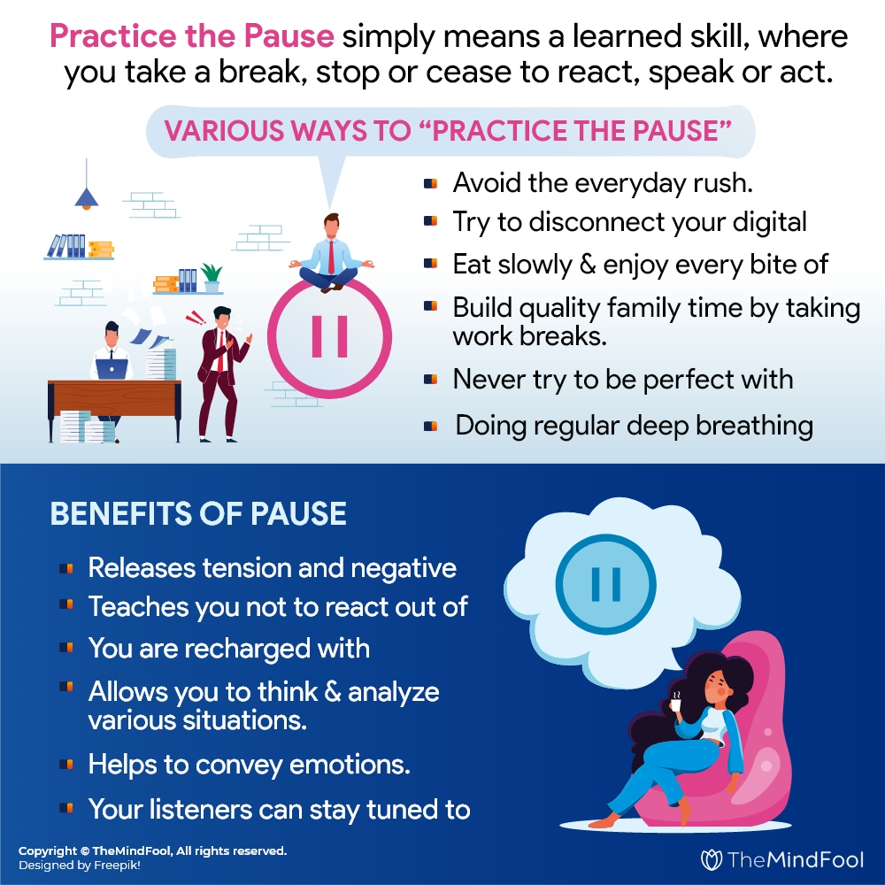 "Master the Art of ""Practice the Pause"""