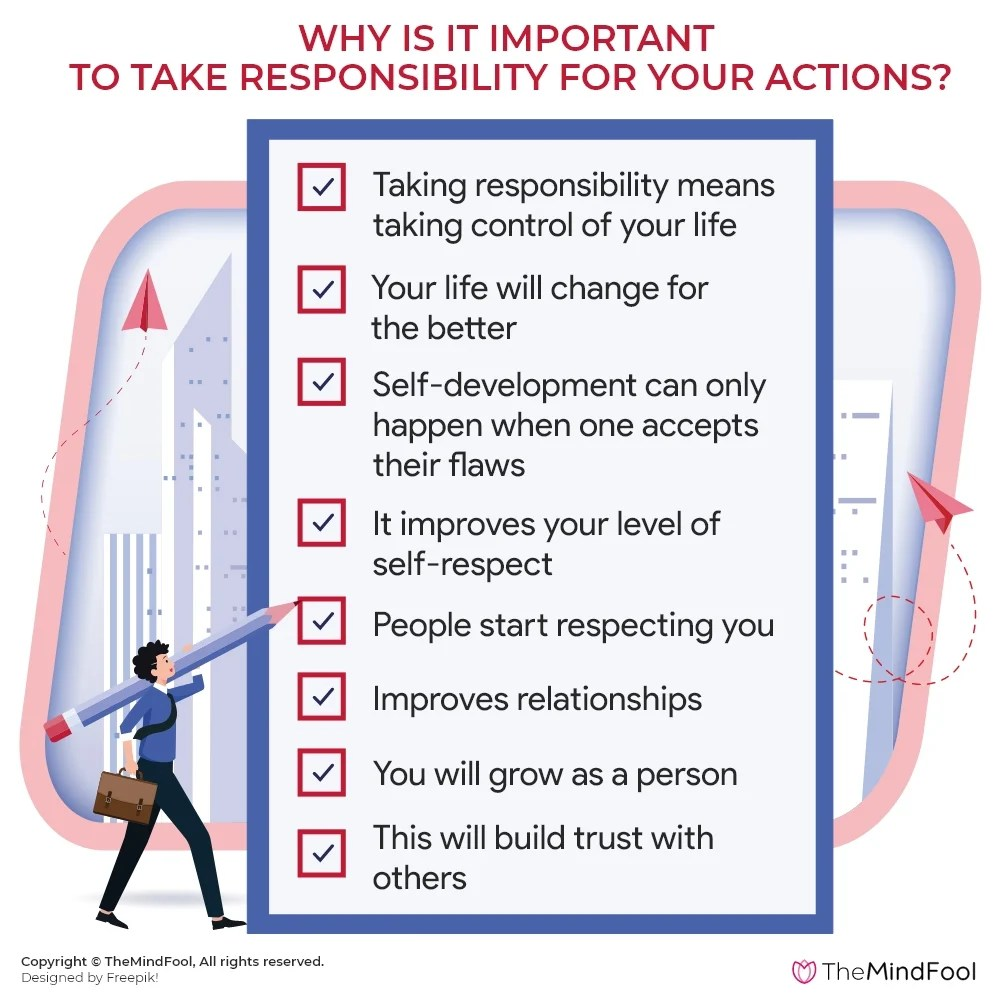 How to Take Responsibility for Your Actions