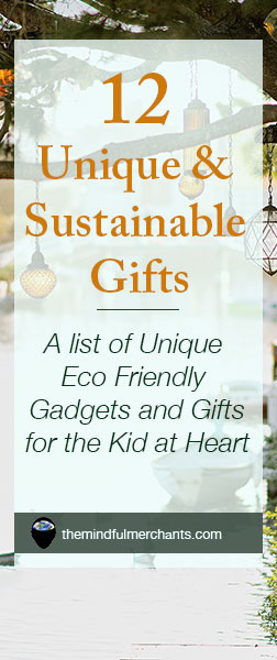 12 Unique and Sustainable Gifts