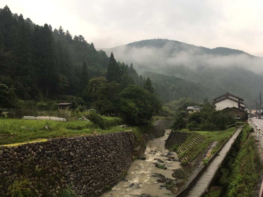 Shinrin Yoku in Japan through mountain villages