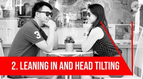 head tilting
