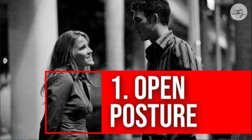 open posture